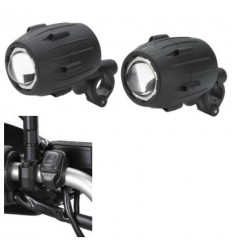 Coppia di faretti supplementari Givi Trekker Lights S310 neri