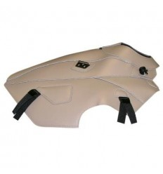 Copriserbatoio Bagster per Yamaha XTZ 660 08-14 in similpelle champagne