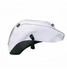 Copriserbatoio Bagster per Yamaha FZ1 NAKED 06-13 in similpelle bianco