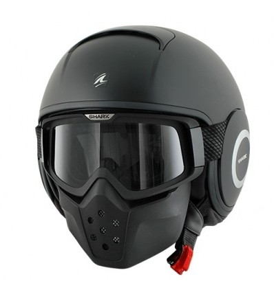 Casco Shark Drak monocolore nero opaco