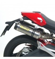 Terminali Arrow Street Thunder Alluminio Carby per Ducati Monster 696 e 796