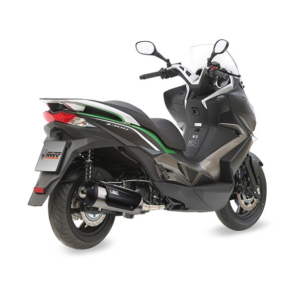 scarico mivv urban per kawasaki j300 kymco dink street 300 downtown 300 e super dink 300. Black Bedroom Furniture Sets. Home Design Ideas