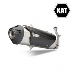 Scarico Mivv Urban KAT per Piaggio Beverly 250 04-07, Beverly Tourer 250 08-09 e Beverly Tourer 300 09-100