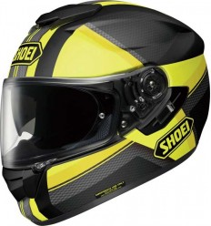 Casco Shoei GT Air Exposure TC3 nero e giallo