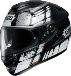 Casco Shoei GT Air Patina TC5 bianco e nero