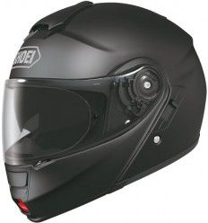 Casco Shoei Neotec apribile con accessori nero opaco
