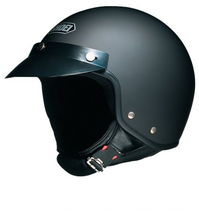 Casco Shoei S-20 nero opaco