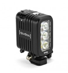 Torcia a led Qudos Action Light nera per GoPro e altre action camera