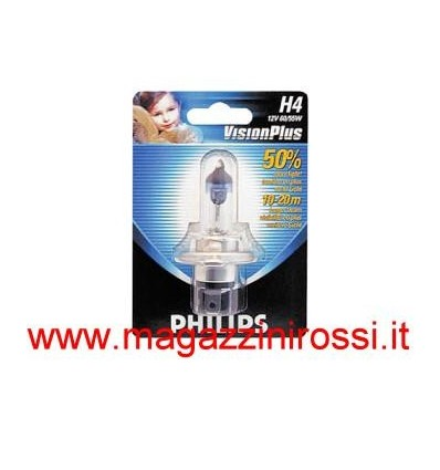 Lampada Philips H4 Vision Plus