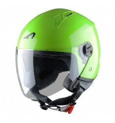 Casco Astone Mini Jet monocolore verde mela