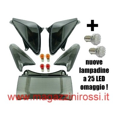Kit vetri completo ONE Tuning fumè (ant. + post.) T-Max 500 01-07