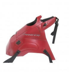 Copriserbatoio Bagster per Yamaha MT09 Tracer ABS in similpelle rosso scuro