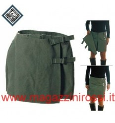 Pantalone gonna Tucano Urbano da donna Mini Canvas verde solo S