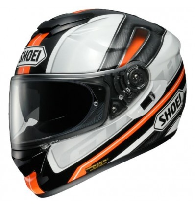 Casco Shoei GT Air Dauntless TC8 bianco, nero e arancio