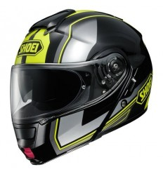 Casco Shoei Neotec apribile con accessori Imminent nero e giallo