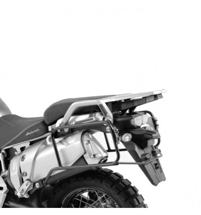 Coppia telai laterali neri Hepco & Becker Lock It per Yamaha XT1200Z Super Teneré 2013