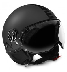 Casco Momo Design Fighter EVO titanio frost e nero