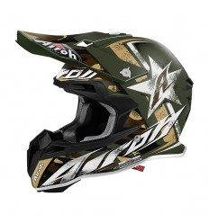 Casco Airoh enduro Terminator 2.1 grafica Ground