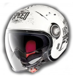 Casco Nolan N21 Visor Moto GP Legends flat white