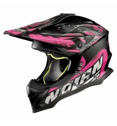 Casco off-road Nolan N53 No Entry flat asphalt black