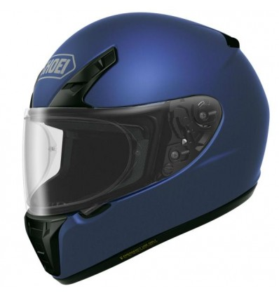 Casco Shoei RYD monocolore blu metal opaco