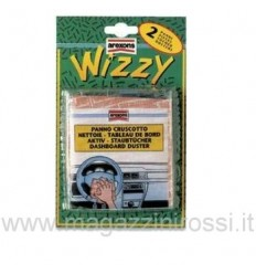 Pulitore cruscotti Arexons Panno Wizzy blister 2 pezzi