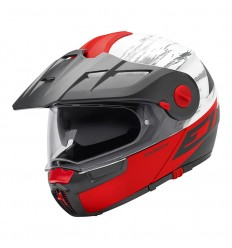 Casco apribile Schuberth E1 Crossfire Red