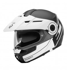 Casco apribile Schuberth E1 Radiant White