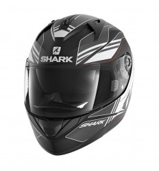 Casco Shark Helmets Ridill grafica Tika nero, antracite e bianco