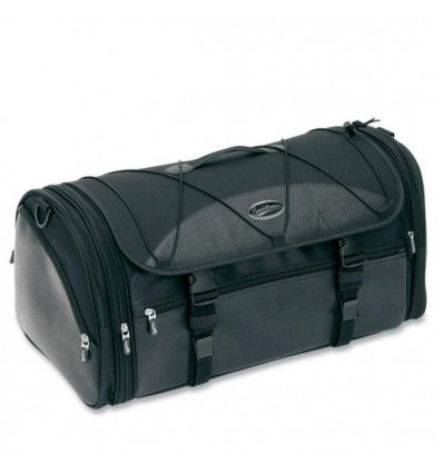 Borsa a rullo Saddlemen Deluxe Rack bag nera da 55 litri