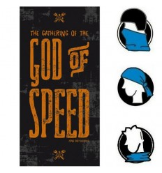Collare bandana John Doe Tunnel grafica God Of Speed