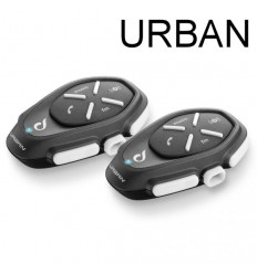 Interfono da casco Bluetooth Cellular Line Urban doppio