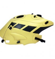 Copriserbatoio Bagster per BMW R850R e R1150R 03-06 in similpelle giallo sole e antracite