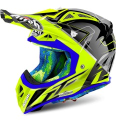 Casco Airoh enduro Aviator 2.2 grafica Cairoli Mantova Gloss
