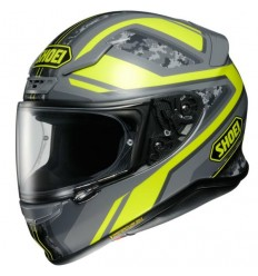 Casco Shoei NXR grafica Parameter TC3 grigio e giallo