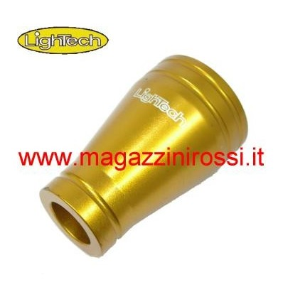 Coprimozzo in ergal Lightech per Yamaha T-Max 500 08-11 oro