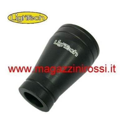 Coprimozzo in ergal Lightech per Yamaha T-Max 500 08-11 nero