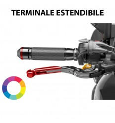 Leva freno destra Puig con terminale Extensible Drop Handle 2.0