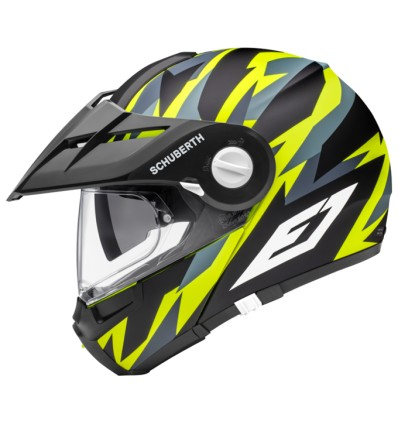 6a719d8da4240 Casco apribile Schuberth E1 Rival Yellow - Magazzini Rossi