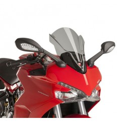 Cupolino Puig Touring per Ducati Supersport e Supersport S fume chiaro
