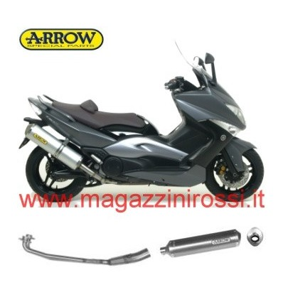 Marmitta Arrow Race-Tech Alluminium Yamaha T-Max 500 08-11