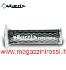 Manopole Harris forate con logo Performance carbonio
