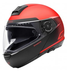 Casco apribile Schuberth C4 grafica Resonance Red
