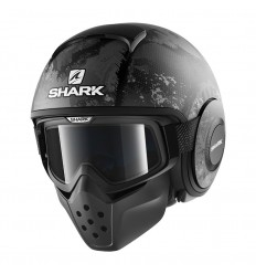 Casco Shark Drak grafica Evok mat nero e antracite