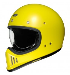 Casco Shoei EX-Zero monocolore giallo brillante