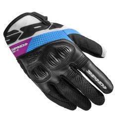 Guanti donna da moto Spidi Flash-R EVO multicolore