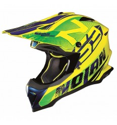 Casco off-road Nolan N53 Whoop led yellow