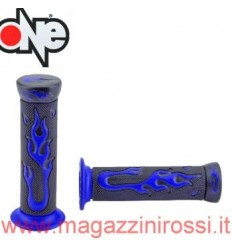 Manopole One Tuning Flamming Gel nero blu