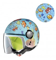 Casco da bambino Grex G1 grafica Fancy22 Aquarium