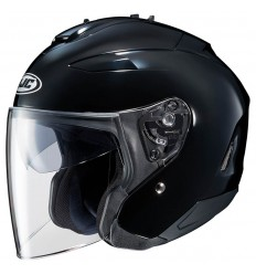 Casco Jet HJC IS-33 II Semi Flat nero opaco